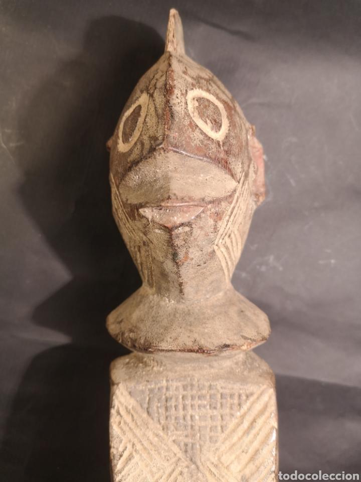 FIGURA CHAMBA ANTIGUA AFRICANA (Arte - Étnico - África)