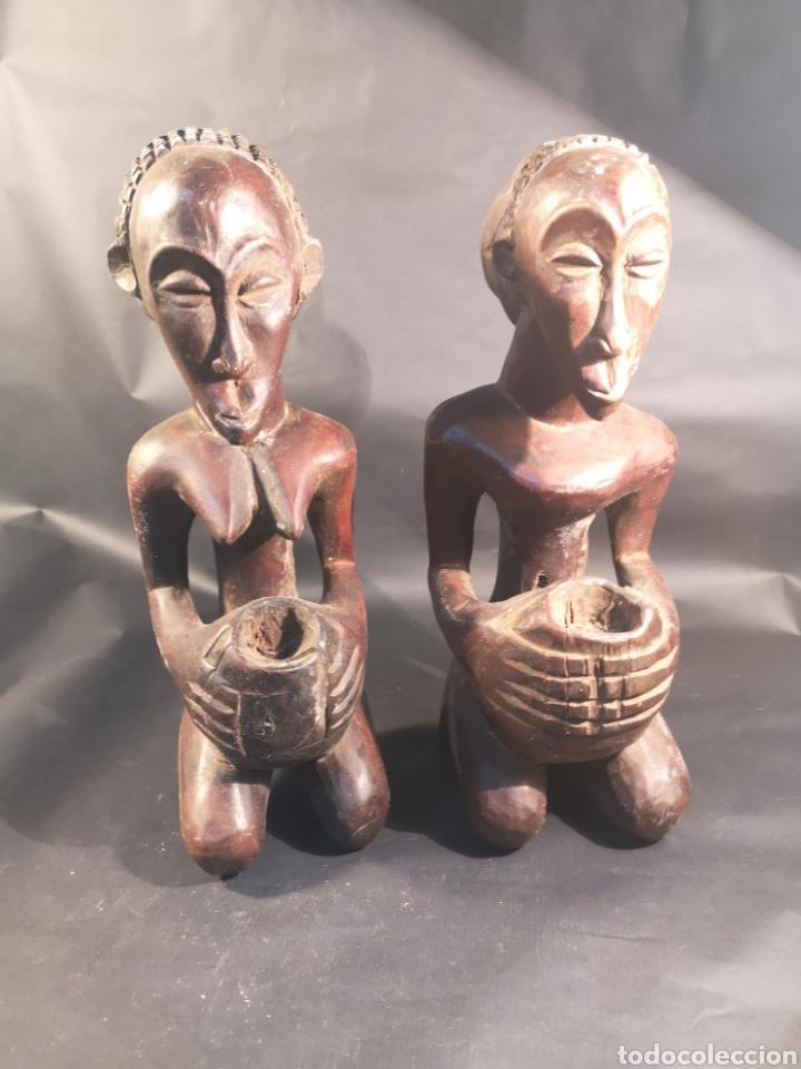 PAREJA AFRICANA (Arte - Étnico - África)