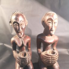 Arte: PAREJA AFRICANA. Lote 195334945