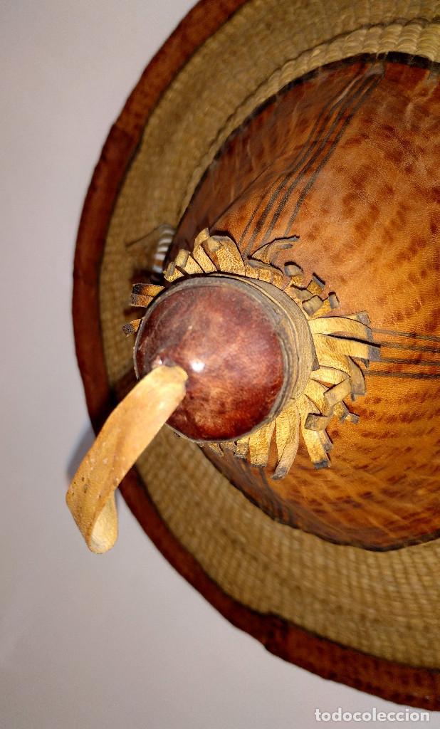 Arte: Sombrero peul de Mali - Foto 2 - 195347183