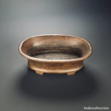 Arte: QING DYNASTY COPPER NARCISSUS BASIN FURNACE. Lote 195439325