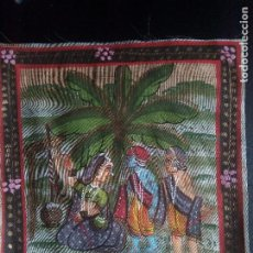 Arte: PINTURA SOBRE SEDA, JAIPUR SIGLO XX. Lote 196513583