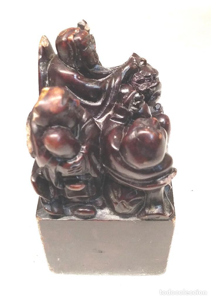 Arte: Jade Sabios Chinos Dragon - Foto 3 - 197068231