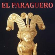 Art: CHAMAN DE 2 CETROS PRECOLOMBINA DE ORO TUMBAGA ORFEBRERIA QUIMBAYA)PESO 66 GR MIDE 9X3 CENTIMET-N122. Lote 197348127