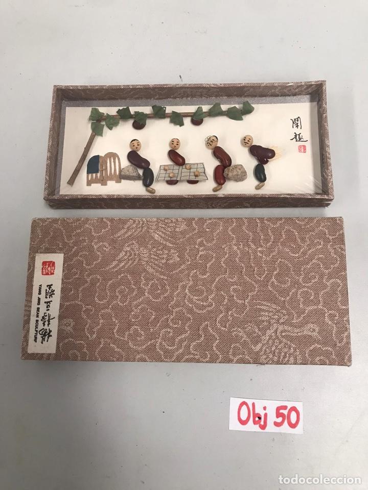 MAGNÍFICA CAJITA CHINA ECHA A MANO (Arte - Étnico - Asia)
