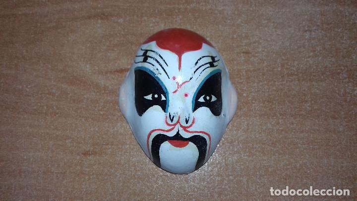 Arte: Mascaras Japonesas Kabuki. MIniaturas. 4,5 x 3,5 cm - Foto 7 - 200536550