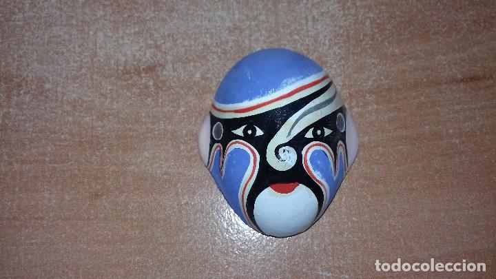 Arte: Mascaras Japonesas Kabuki. MIniaturas. 4,5 x 3,5 cm - Foto 9 - 200536550