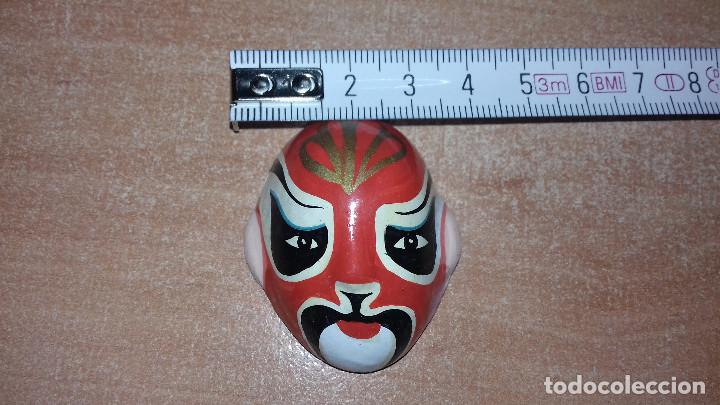 Arte: Mascaras Japonesas Kabuki. MIniaturas. 4,5 x 3,5 cm - Foto 16 - 200536550