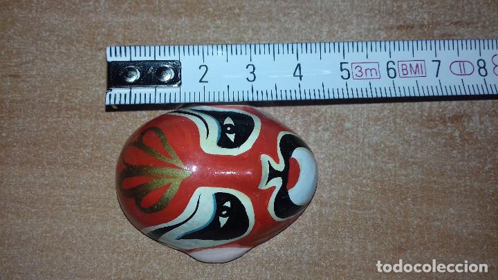 Arte: Mascaras Japonesas Kabuki. MIniaturas. 4,5 x 3,5 cm - Foto 17 - 200536550