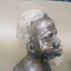 Arte: ANTIGUA TALLA AFRICANA EN PIEDRA, BOTSWANA?. Lote 204168530