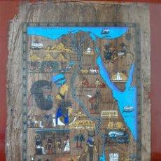 Art: PAPIRO EGIPCIO ORIGINAL CON CERTIFICADO. Lote 204356196