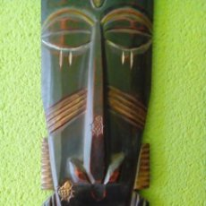 Arte: MASCARA AFRICANA 60 CM. Lote 204712446