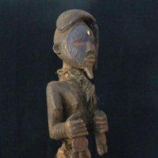 Arte: FETICHE - ETNIA TEKE - REPÚBLICA DEL CONGO - 51 CM.. Lote 206171286