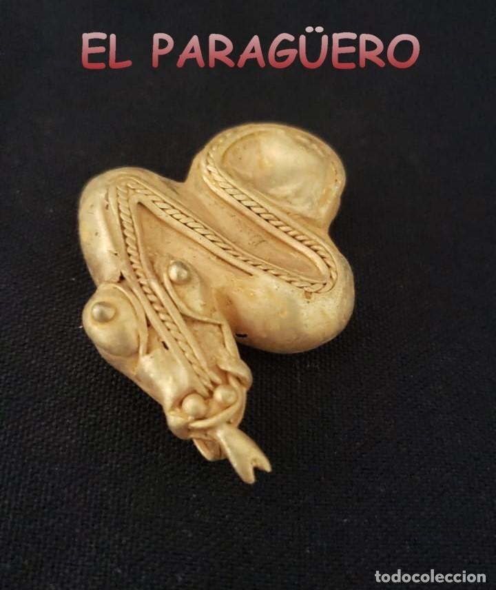 SERPIENTE PRECOLOMBINA QUIMBAYA DE ORO TUMBAGA PESO 22 GRAMOS - Nº2 (Arte - Étnico - América)