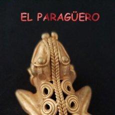 Arte: RARA RANA PRECOLOMBINA QUIMBAYA DE ORO TUMBAGA PESO 19 GRAMOS - Nº11. Lote 206346565