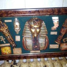 Arte: FIGURAS DE DIOSES EGIPCIOS. Lote 206476787