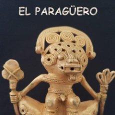 Arte: CHAMAN ANTROPOMORFO PRECOLOMBINO QUIMBAYA DE ORO TUMBAGA PESO 98 GRAMOS - Nº129. Lote 206502065