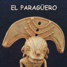 Arte: CHAMAN EROTICO ZOOMORFICO PRECOLOMBINO QUIMBAYA DE ORO TUMBAGA PESO 71 GRAMOS - Nº131. Lote 206502513