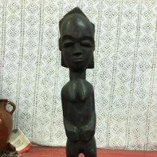 Arte: ESTATUA MADERA MUJER AFRICANA. Lote 207052512