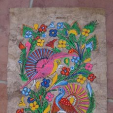Arte: PINTURA ORIGINAL EN PAPEL AMATE. ARTE POPULAR MÉXICO. Lote 207301836