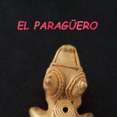 Arte: RARA RANA ANTROPOMORFA PRECOLOMBINA TAIRONA DE ORO TUMBAGA PESO 26 GRAMOS - P5. Lote 207325813