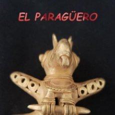 Arte: RARO PAJARO TICUNA PRECOLOMBINO QUIMBAYA DE ORO TUMBAGA PESO 36 GRAMOS - P6. Lote 207327246