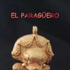 Art: VALE PARA COLGANTE RARO CHAMAN ZOOMORFICO PRECOLOMBINO QUIMBAYA DE ORO TUMBAGA PESO 29 GRAMOS - P12. Lote 208649051