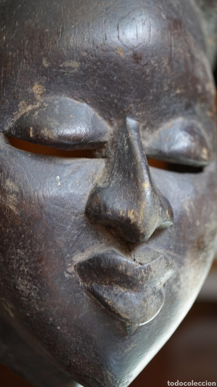 Arte: Arte Africano. Mascara Ibibio vintage. Nigeria - Foto 2 - 209026220