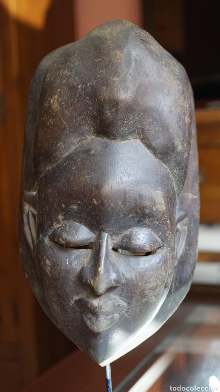 Arte: Arte Africano. Mascara Ibibio vintage. Nigeria - Foto 4 - 209026220