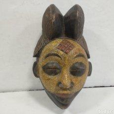 Arte: ANTIGUA Y RARA MASCARA AFRICANA.POSIBLEMENTE PUNU GABON. Lote 209061323