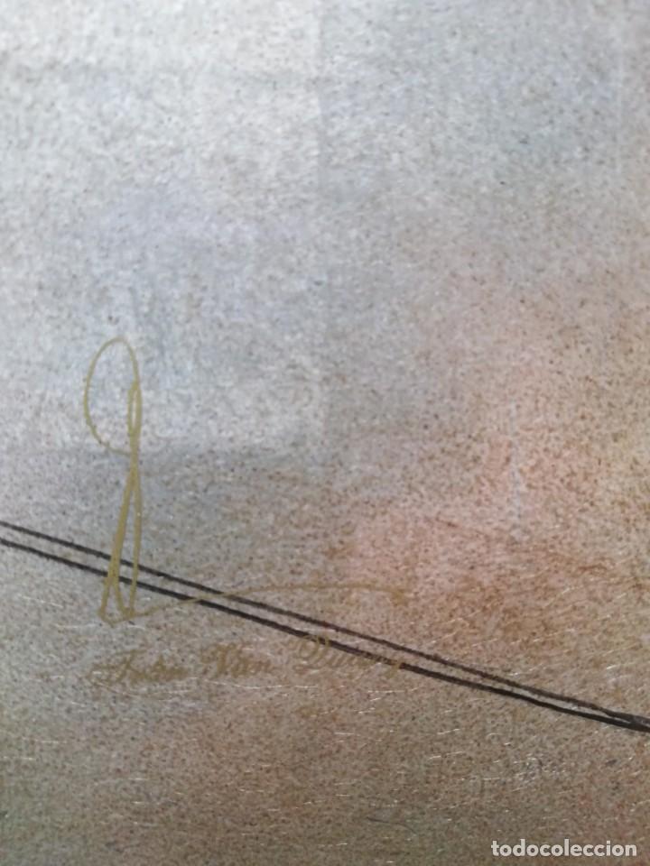 Arte: CUADRO PLAFON GHEISA EN LACA JAPONESA CASCARA DE HUEVO - Foto 6 - 209067590