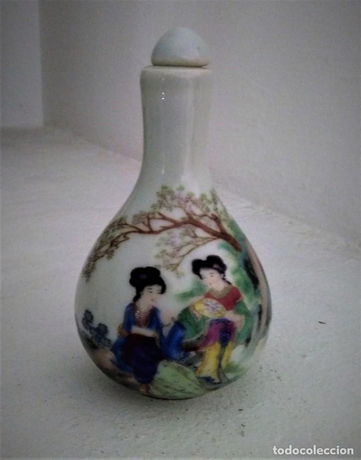 TABAQUERA DE RAPÉ CHINA. PRINCIPIOS SIGLO XX. (Arte - Étnico - Asia)