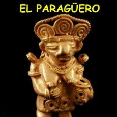 Arte: VALE PARA SER COLGADO - INDIA MADRE PRECOLOMBINA TAIRONA DE ORO TUMBAGA PESO 32 GRAMOS -S12. Lote 211442756
