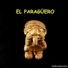 Arte: VALE PARA SER COLGADO - INDIO YUTICA PRECOLOMBINO TAIRONA DE ORO TUMBAGA PESO 33 GRAMOS -S14. Lote 211442912