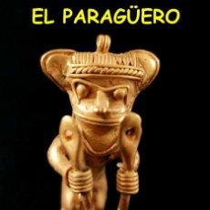 Arte: VALE PARA SER COLGADO - CHAMAN DE 2 CETROS PRECOLOMBINO TAIRONA DE ORO TUMBAGA PESO 35 GRAMOS -S16. Lote 211443051