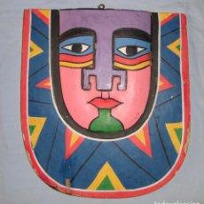 Arte: ANTIGUA CARETA AZTECA 30X28 CM. Lote 211692669