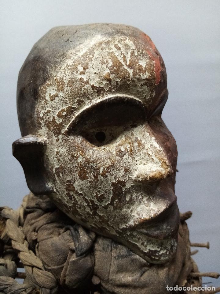Arte: ARTE ÉTNICO AFRICANO. FETICHE NKISI. BAKONGO YOMBE del tipo NKONDI.CONGO.ÁFRICA. - Foto 6 - 212493645