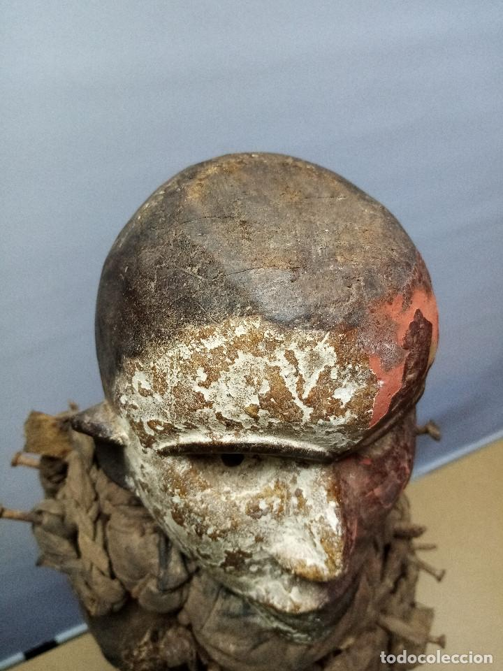 Arte: ARTE ÉTNICO AFRICANO. FETICHE NKISI. BAKONGO YOMBE del tipo NKONDI.CONGO.ÁFRICA. - Foto 8 - 212493645
