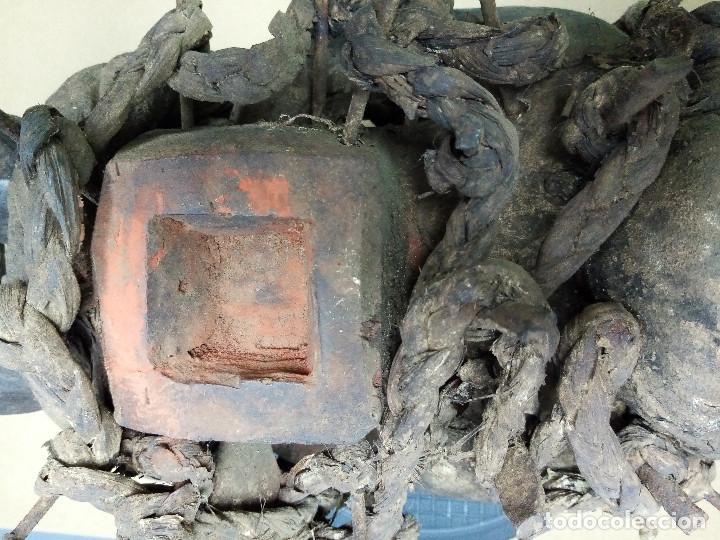 Arte: ARTE ÉTNICO AFRICANO. FETICHE NKISI. BAKONGO YOMBE del tipo NKONDI.CONGO.ÁFRICA. - Foto 11 - 212493645