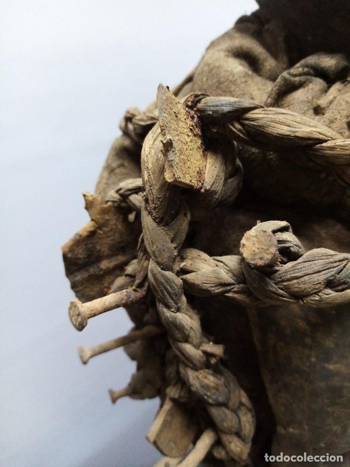 Arte: ARTE ÉTNICO AFRICANO. FETICHE NKISI. BAKONGO YOMBE del tipo NKONDI.CONGO.ÁFRICA. - Foto 16 - 212493645