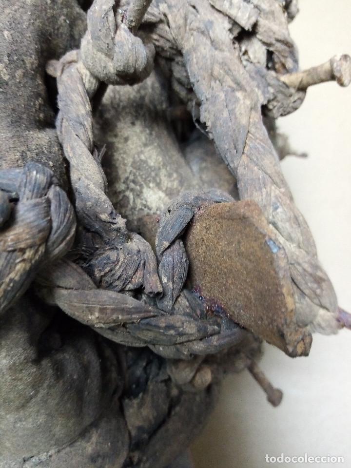 Arte: ARTE ÉTNICO AFRICANO. FETICHE NKISI. BAKONGO YOMBE del tipo NKONDI.CONGO.ÁFRICA. - Foto 20 - 212493645
