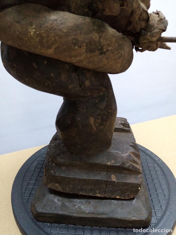 Arte: ARTE ÉTNICO AFRICANO. FETICHE NKISI. BAKONGO YOMBE del tipo NKONDI.CONGO.ÁFRICA. - Foto 30 - 212493645