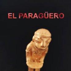 Arte: RARA INDIO GUERETO PRECOLOMBINO TAIRONA DE ORO TUMBAGA PESO 85 GRAMOS-P9. Lote 267669479