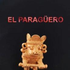 Arte: VALE PARA COLGANTE CHAMAN EROTICO ZOOMORFICO PRECOLOMBINO TAIRONA DE ORO TUMBAGA PESO 47 GRAMOS-P13. Lote 267671309