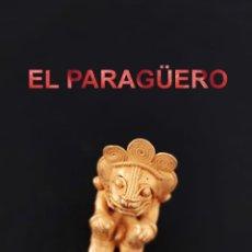 Arte: VALE PARA COLGANTE CHAMAN EROTICO ZOOMORFICO PRECOLOMBINO TAIRONA DE ORO TUMBAGA PESO 38 GRAMOS-P14. Lote 267668904