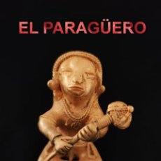 Arte: CHAMAN EROTICO DE 1 CETRO PRECOLOMBINO TAIRONA DE ORO TUMBAGA PESO 114 GRAMOS-P15. Lote 267669124