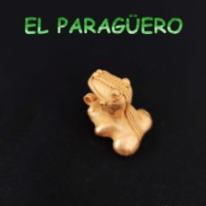 Arte: VALE PARA COLGANTE - RANA PRECOLOMBINA TAIRONA DE ORO TUMBAGA PESO 17 GRAMOS -T4. Lote 212808351