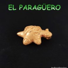 Arte: VALE PARA COLGANTE - TORTUGA PRECOLOMBINA QUIMBAYA DE ORO TUMBAGA PESO 23 GRAMOS -T10. Lote 212811133