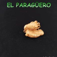 Arte: VALE PARA COLGANTE - PAJARO TUMACO PRECOLOMBINO QUIMBAYA DE ORO TUMBAGA PESO 29 GRAMOS -T16. Lote 212812897