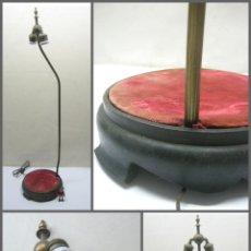 Arte: GRAN LAMPARA PEANA EXPOSITORA DE DOS LUCES . ÉPOCA VICTORIANA ( ESTILO ORIENTALISTA ). Lote 212939842